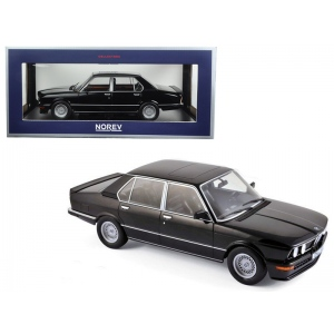 1980 BMW M535i Black 1/18 Diecast Model Car by Norev