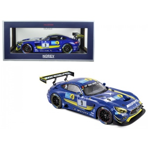 Mercedes AMG GT3 2016 #9 Team Black Falcon  1/18 Diecast Model Car  by Norev