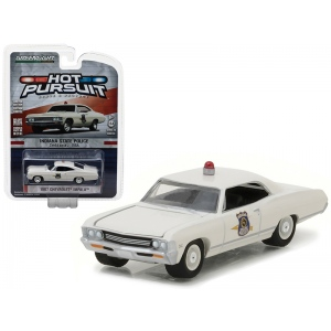 1967 Chevrolet Impala Indiana State Police Hot Pursuit Series 23 1/64 Diecast Model Car by Greenlight