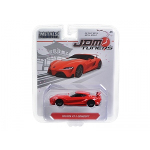 "Toyota FT-1 Concept Red ""JDM Tuners"" 1/64 Diecast Model Car by Jada"