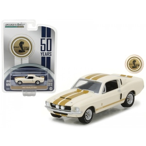 1967 Ford Shelby Mustang GT-500 50th Anniversary Edition Anniversary Collection Series 5 1/64 Diecast Model Car by Greenlight