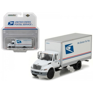 2013 International Durastar Box Truck United States Postal Service (USPS) HD Trucks Series 9 1/64 Diecast Model by Greenlight