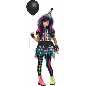 Twisted Circus Child Costume XL (14-16): XL, Everyday, Child
