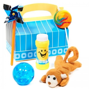 Birthday Express Fun at One Boy Filled Favor Box