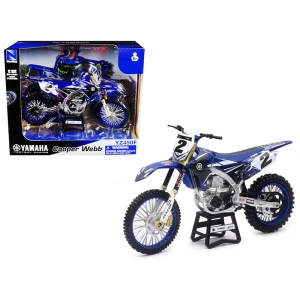 Yamaha Factory Racing YZ450F #2 Cooper Webb Motorcycle Model 1/12 by New Ray
