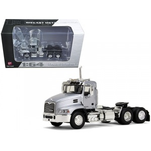 Mack Pinnacle Day Cab Silver 1/64 Diecast Model by First Gear