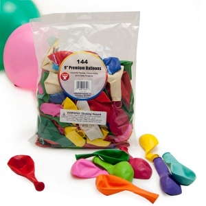 "Hygloss Balloons - 144 ct., 9"" Balloons"
