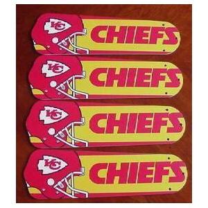 Ceiling Fan Designers Nfl Kansas City Chiefs Fan Blades