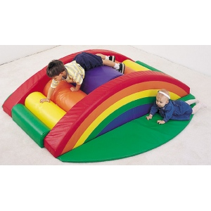 The Children's Factory Rainbow Arch Climber