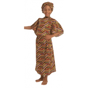 the factory west african girl costume - Childrens Factory