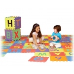 Edushape® Edu-Tile Mat: Letters & Numbers, 36 Pieces