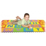 Edushape® Edu-Tile Mat: Letters U/C, 26 Pieces