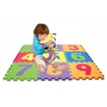 Edushape® Edu-Tile Mat: Numbers, 10 Pieces