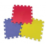 Edushape® Edu-Tile Mat: Play Mat, 25 Pieces