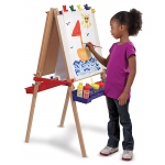 Deluxe Wooden Standing Art Easel: 3+ Years