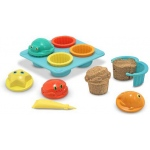 Seaside Sidekicks Sand Cupcake Set: 3+ Years