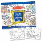 Jumbo Coloring Pad: Blue, 3+ Years