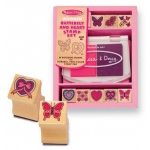 Butterfly and Hearts Stamp Set: 4+ Years