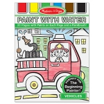 Vehicles Paint with Water Kids' Art Pad: 3+ Years