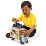 Animal Rescue Shape-Sorting Truck Wooden Toy: 2+ Years