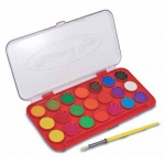 Deluxe Watercolor Paint Set: 21 Colors, 3+ Years