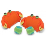 Clicker Crab Toss & Grip Game for Kids: 3+ Years