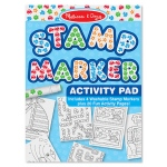 Stamp Marker Activity Pad: Blue, 4+ Years