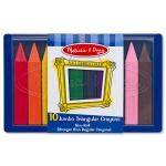 Jumbo Triangular Crayons: 2+ Years