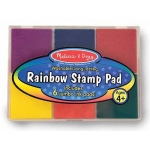Rainbow Stamp Pad: 4+ Years