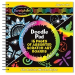 Scratch Magic Doodle Pad Book: 4+ Years