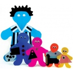 "Hygloss Family Cut-Outs: 16"" Me Kid, Package of 25"