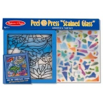 "Undersea Fantasy ""Stained Glass"" Peel & Press Sticker by Number: 6+ Years"