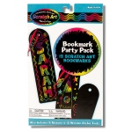 Scratch Art Party Pack - Bookmarks: 4+ Years