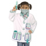 Doctor Role Play Costume Set: 3+ Years