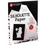 "Hygloss Silhouette Paper: 8.5"" x 11"", 25 Sheets"