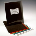 Hygloss Velour Poster Board: Black, 25 Sheets