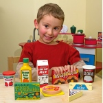 Fridge Food Set - Wooden Play Food: 3+ Years