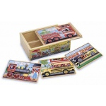 Vehicles Jigsaw Puzzles in A Box: 3+ Years