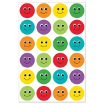 Hygloss Smiley Face Stickers: 3 Sheets