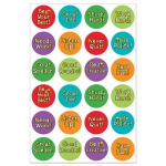 Hygloss Be Your Best Stickers: 20 Sheets