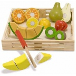 Cutting Fruit Set: Wooden Play Food, 3+ Years