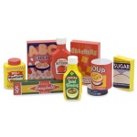 Dry Goods Pantry Set - Wooden Play Food: 3+ Years