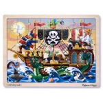 Pirate Adventure Jigsaw Puzzle: 48 Pieces, 3+ Years