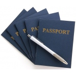 Hygloss Passport Books: Blank Pages, 100 Books