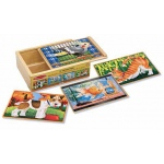 Pets Jigsaw Puzzles in A Box: 3+ Years