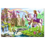Fairy Tale Castle Floor Puzzle: 48 Pieces, 3+ Years