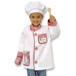 Chef Role Play Costume Set: 3 - 6 Years