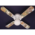 Ceiling Fan Designers Baby Safari Elephant Lion Zebra Ceiling Fan: 42""