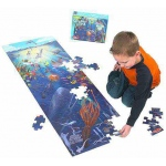 Under the Sea Floor Puzzle: 100 Pieces, 6+ Years