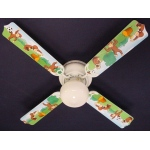 Ceiling Fan Designers Curious George Monkey Ceiling Fan: 42""